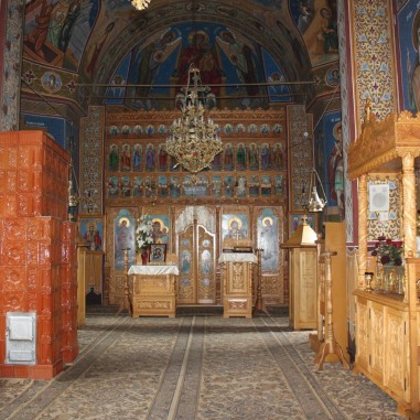 Biserica nouă a Sfintei Mănăstiri Iezer