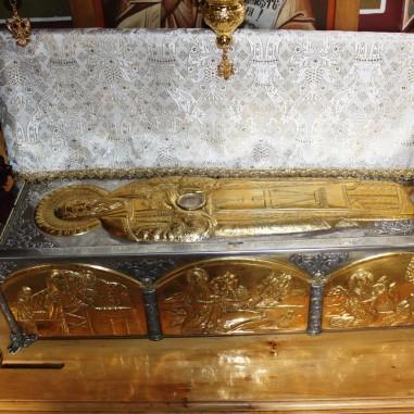 Moaștele Sfântului Antonie de la Iezer